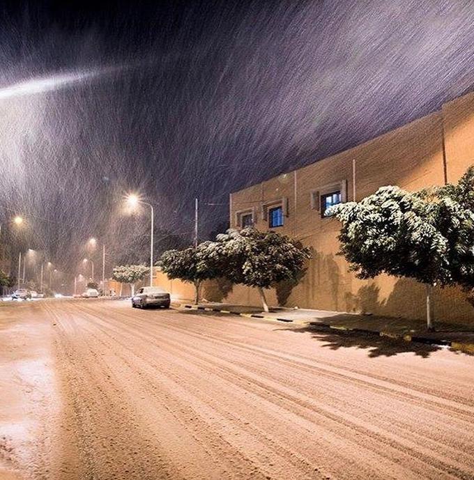 Image d'illustration pour Tempête et blizzard sur les Balkans et la Libye