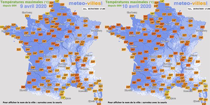 Image d'illustration pour L'été en avril : chaleur et records de température