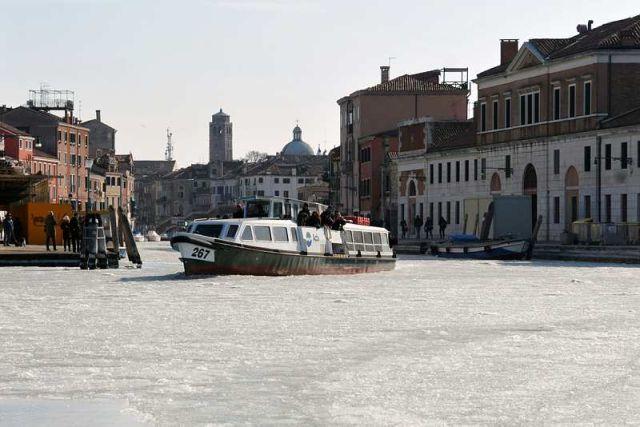 Image d'illustration pour Venise : entre une tornade mardi et canaux gelés cet hiver