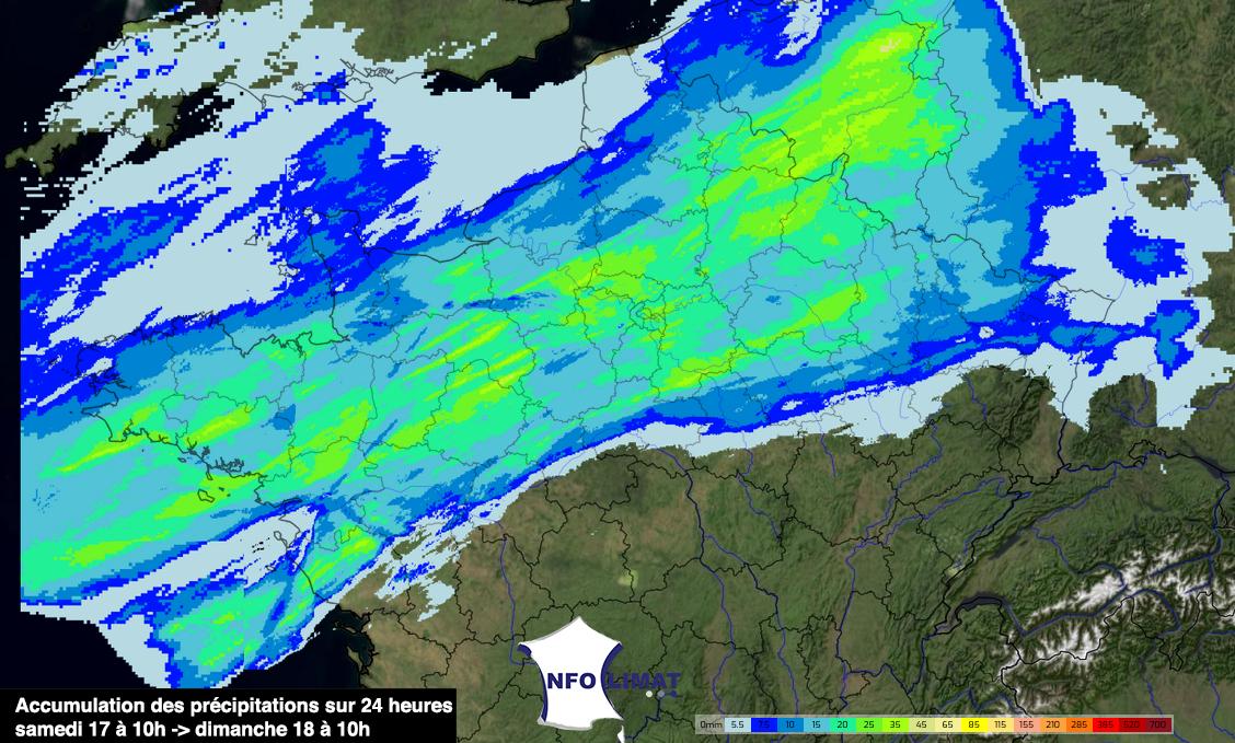 Image d'illustration pour Pluies, orages : le temps se dégrade ce week-end