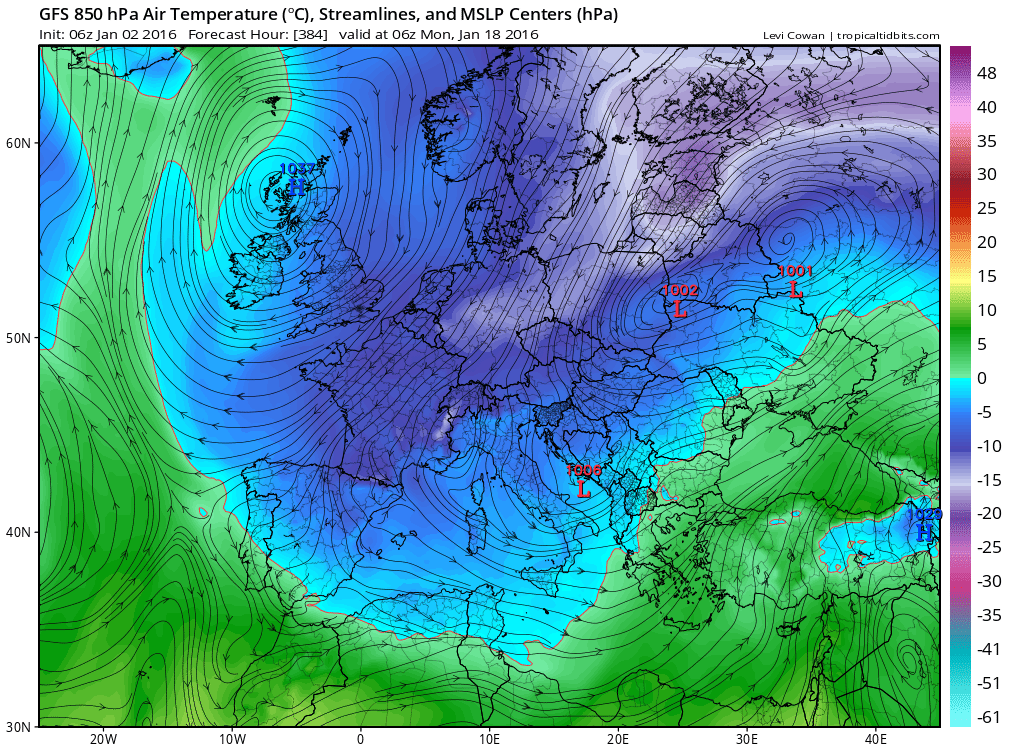 Image d'illustration pour Les chances (ou risques) de neige en plaine après la mi-janvier