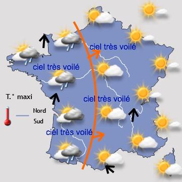 Image d'illustration pour Soleil, douceur et fortes amplitudes avant une dégradation limitée