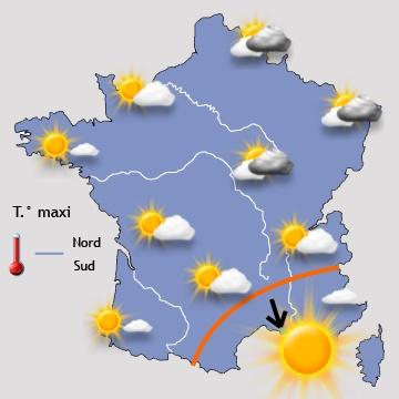 Image d'illustration pour Jours fériés - week-end du 8 mai : orage avant une amélioration