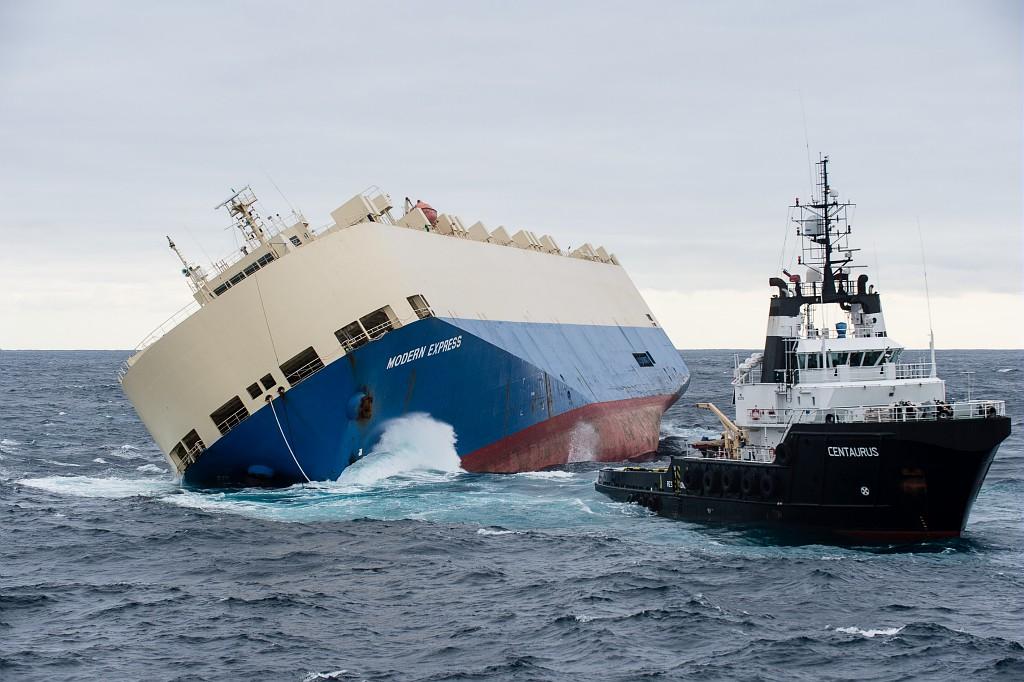 Image d'illustration pour Un cargo à la dérive au large des côtes Françaises