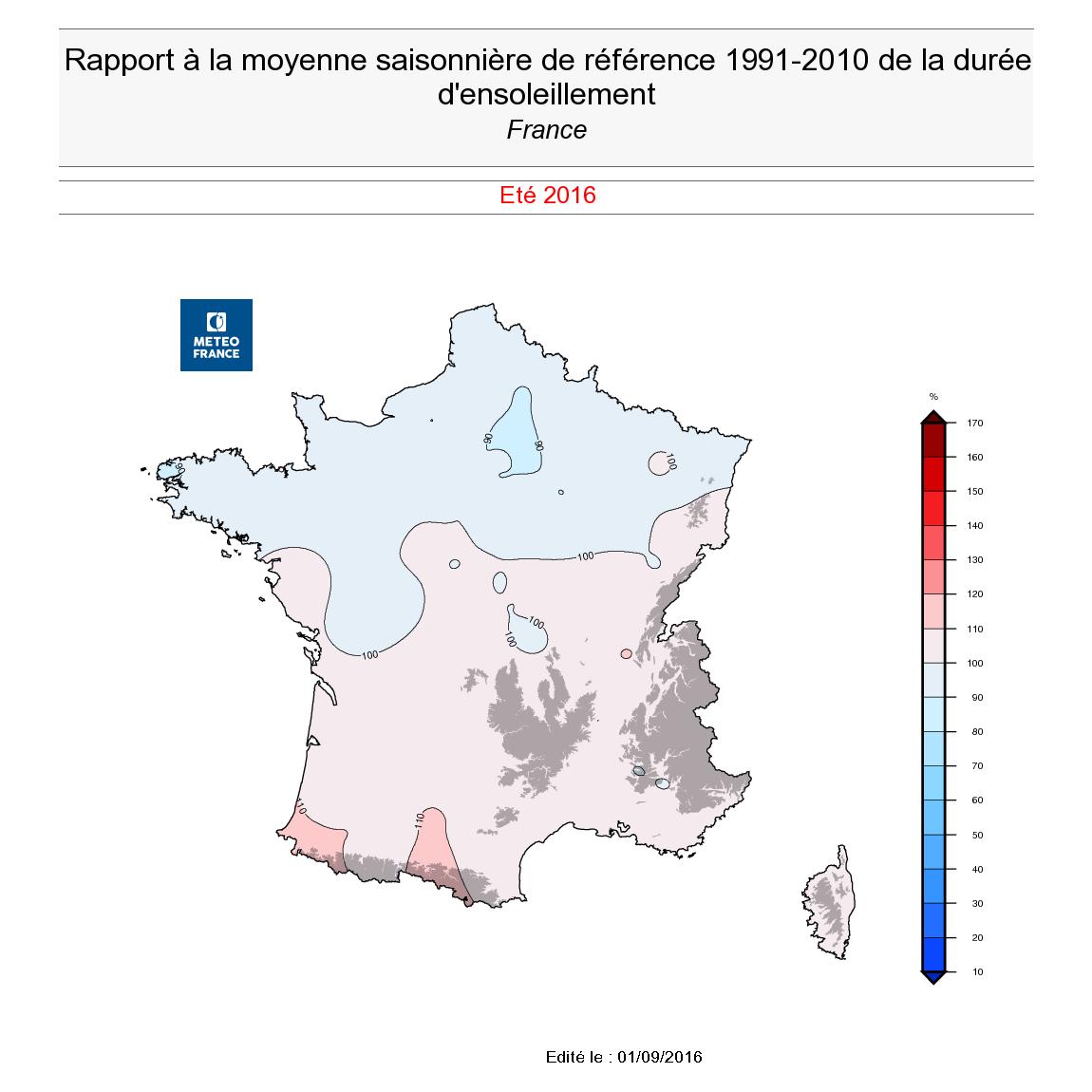 Image d'illustration pour Bilan de l'été : chaud et particulièrement sec