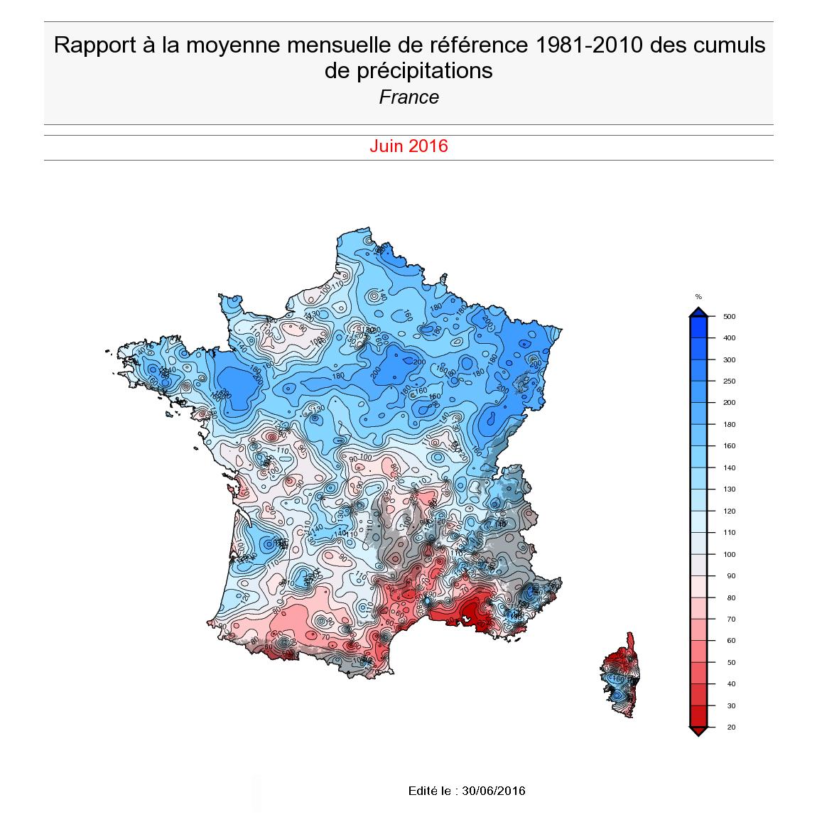 Image d'illustration pour Humidité et absence de soleil : le bilan climatique de Juin