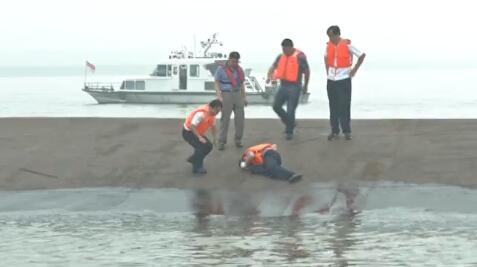 Image d'illustration pour Tempête : naufrage d'un navire sur le Yangtsé en Chine