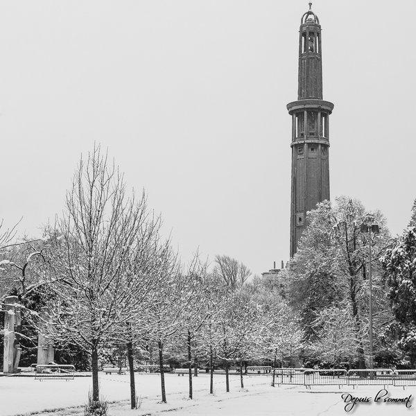 Image d'illustration pour Episode de neige dans le Centre-Est