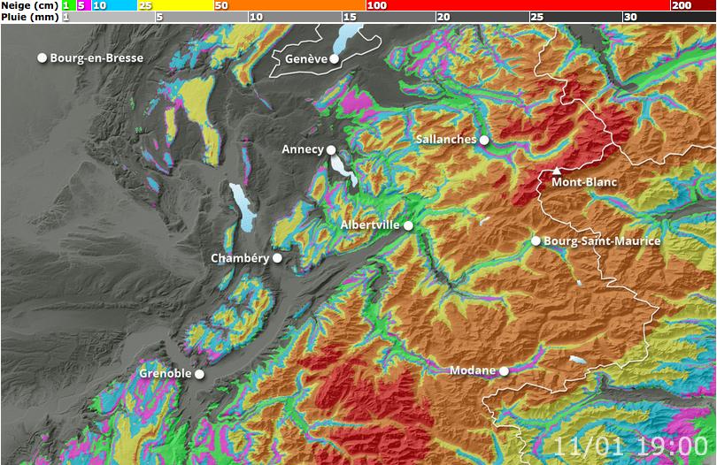 Image d'illustration pour Fortes pluies en plaine et neige en montagne : une semaine agitée en vue