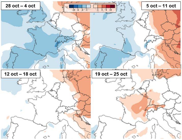 Image d'illustration pour Quelles tendances pour la suite de l'automne ?