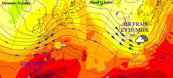 Image d'illustration pour La fraicheur et l'humidité de retour dès lundi