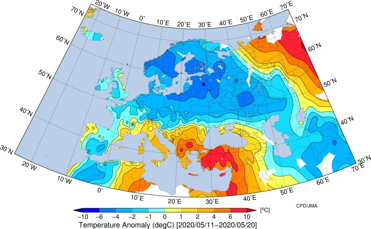 Image d'illustration pour L'actualité météo dans le monde en cette fin mai 2020