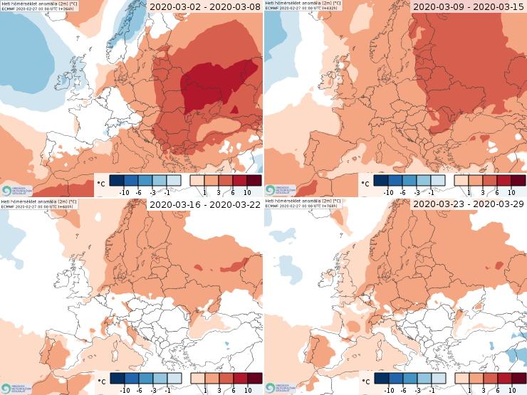 Image d'illustration pour Quelle tendances pour la météo du printemps 2020 ?