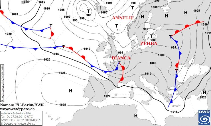 Image d'illustration pour Dépression Bianca : bilan de la neige et des vents tempétueux