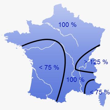 Image d'illustration pour Sécheresse en France : bilan fin d'été 2012