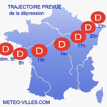 Image d'illustration pour Violentes rafales à Saint-Hilaire-le-Vouhis (Vendée) et tornade à Marseille