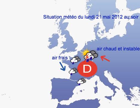 Image d'illustration pour Inondations à Nancy dans la nuit du 21 au 22 mai 2012