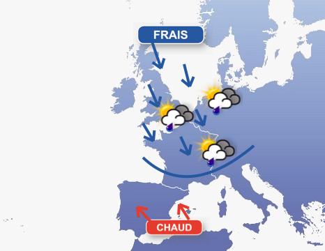 Image d'illustration pour Fin de l'épisode estival sur la moitié Nord mais des prévisions compliquées...
