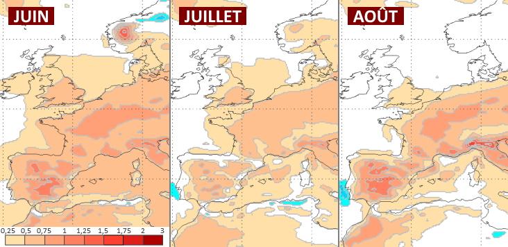 Image d'illustration pour Y a-t-il un risque de canicule en France pour l'été 2020 ?