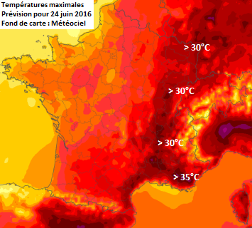 Image d'illustration pour Première très forte chaleur de l'année