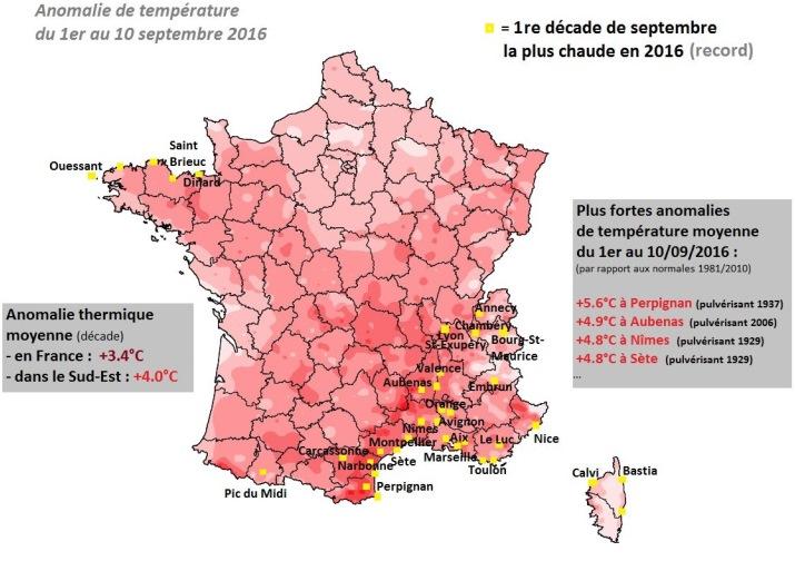 Image d'illustration pour Forte chaleur tardive en ce mois de septembre