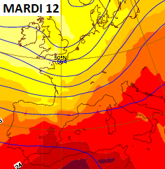 Image d'illustration pour Plein été et grosse chaleur près de la Méditerranée