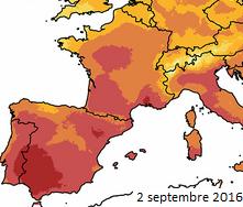 Image d'illustration pour De nouveaux records de chaleur tombent à l'Ouest