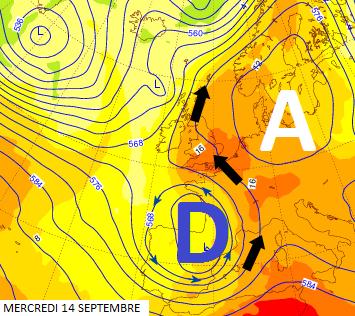 Image d'illustration pour Bilan de la vague de chaleur du 12 au 14 septembre