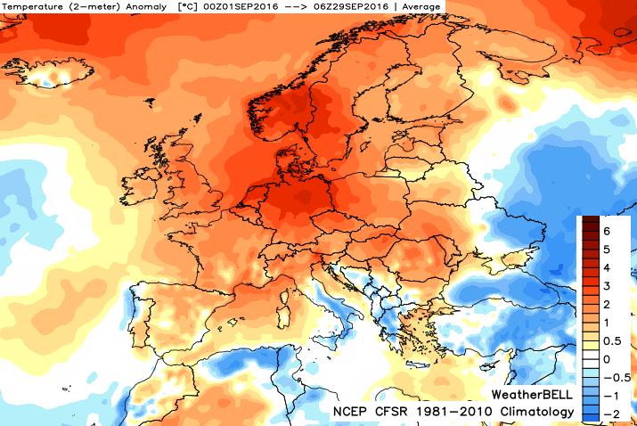 Image d'illustration pour Septembre 2016 parmi les chauds en France