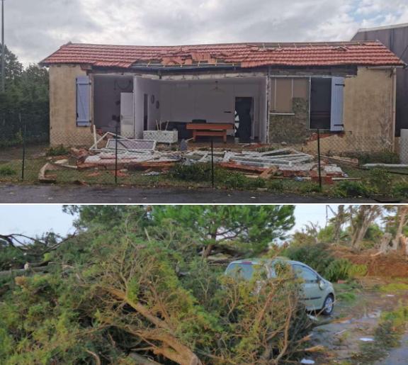 Image d'illustration pour Tornade et dégâts en Charente-Maritime mercredi 23 septembre