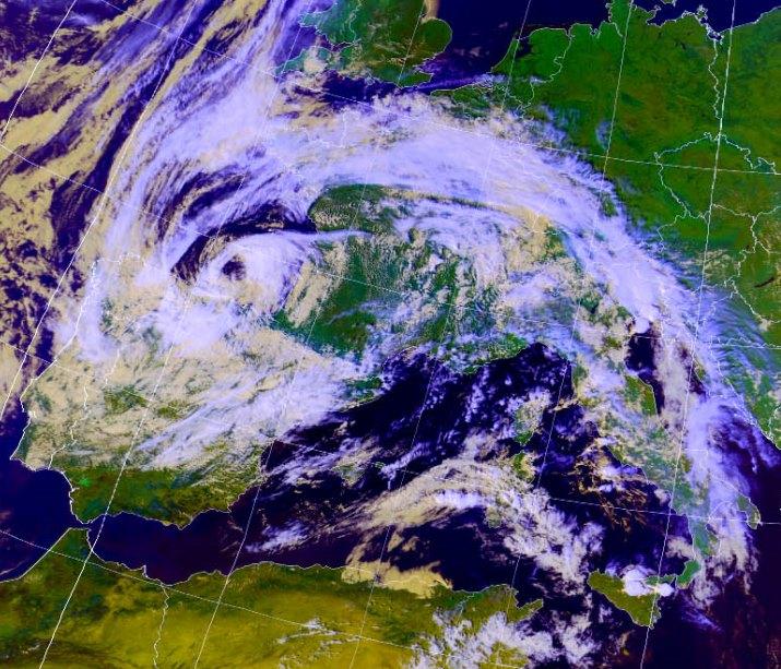 Image d'illustration pour Une dépression subtropicale vers l'Aquitaine sur un Océan trop chaud