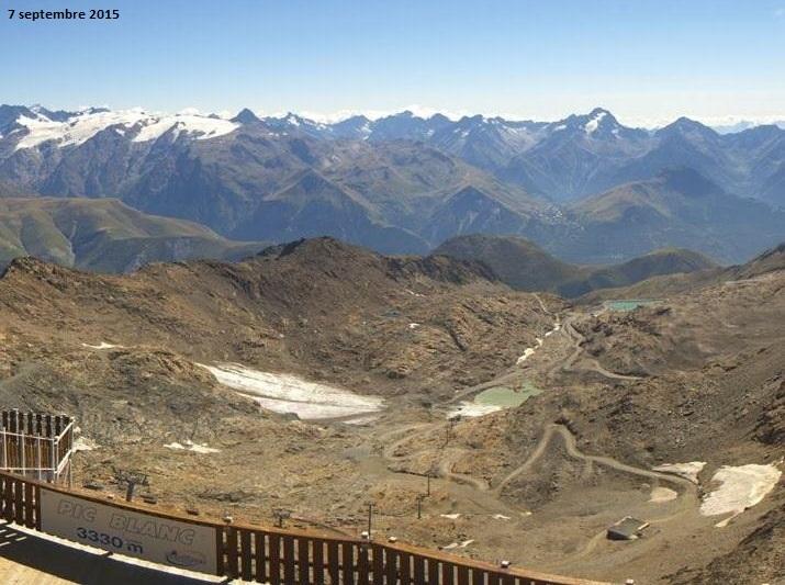 Image d'illustration pour Douceur record en haute montagne et sur les glaciers