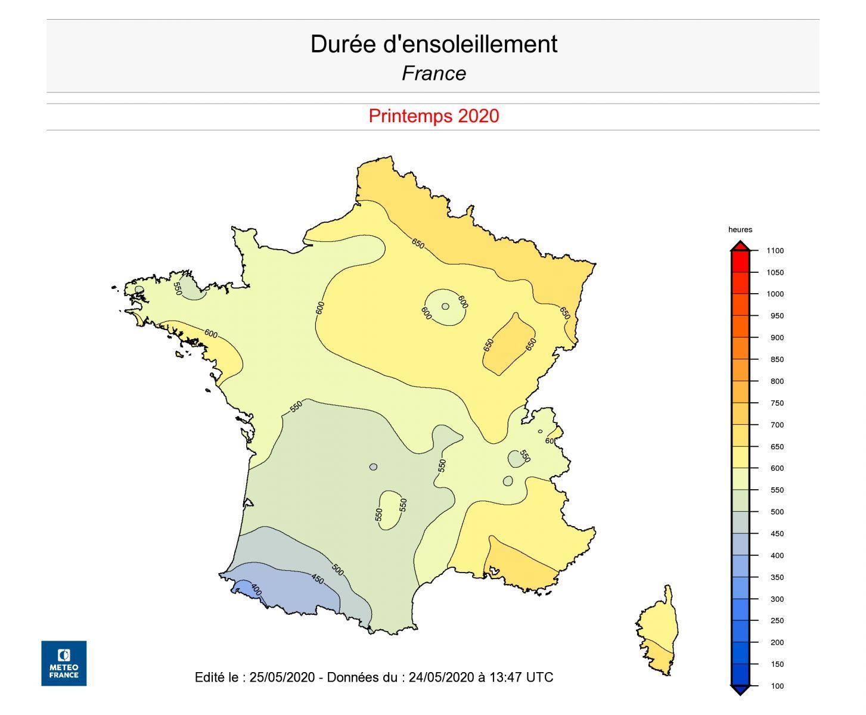 Image d'illustration pour Printemps 2020 : ensoleillement record et sécheresse au nord