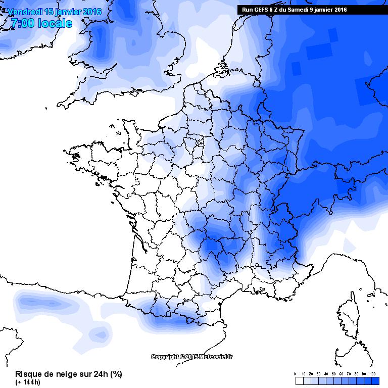 Image d'illustration pour Plus froid et neige à basse altitude la semaine prochaine