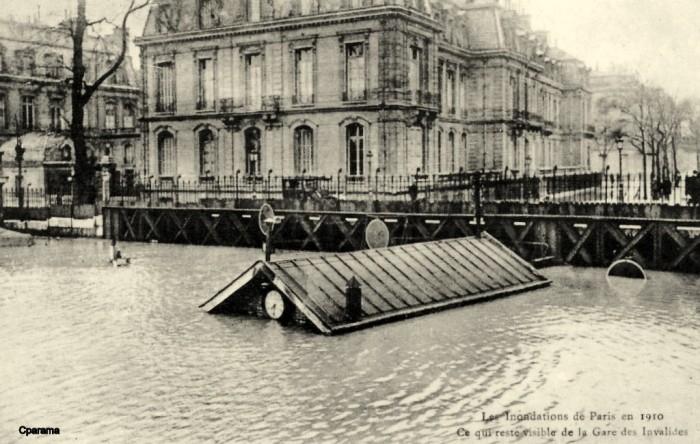 Image d'illustration pour Il y a 110 ans, la crue centennale de la Seine inondait Paris