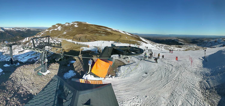 Image d'illustration pour Enneigement en montagne : forts contrastes pour la nouvelle année