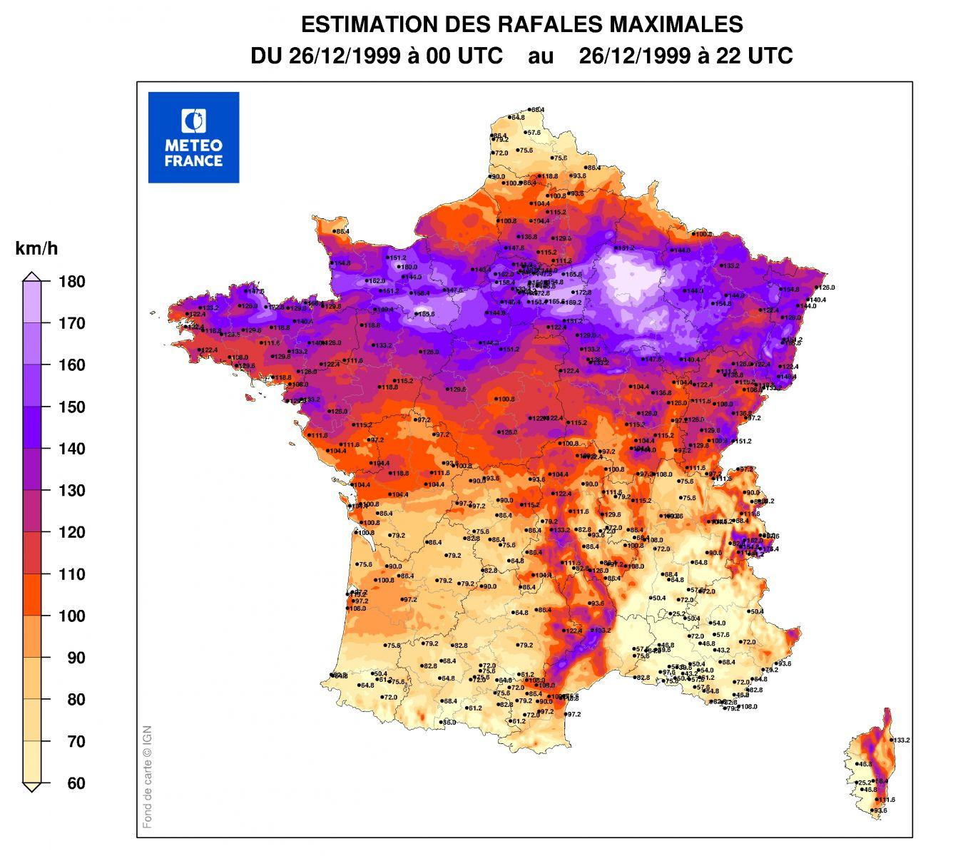 Image d'illustration pour Il y a 20 ans, les tempêtes Lothar et Martin dévastaient la France
