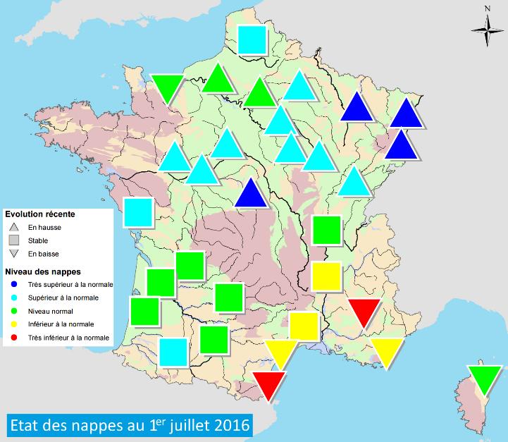 Image d'illustration pour La sécheresse s'étend du Sud-Est vers l'Ouest de la France