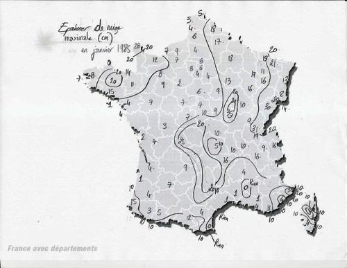 Image d'illustration pour Retour sur la vague de froid remarquable de janvier 1985