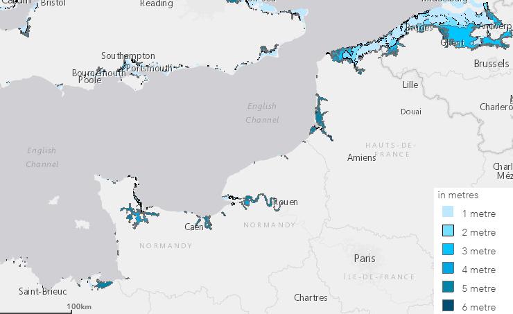 Image d'illustration pour Montée des eaux, sécheresses, incendies : les impacts du réchauffement