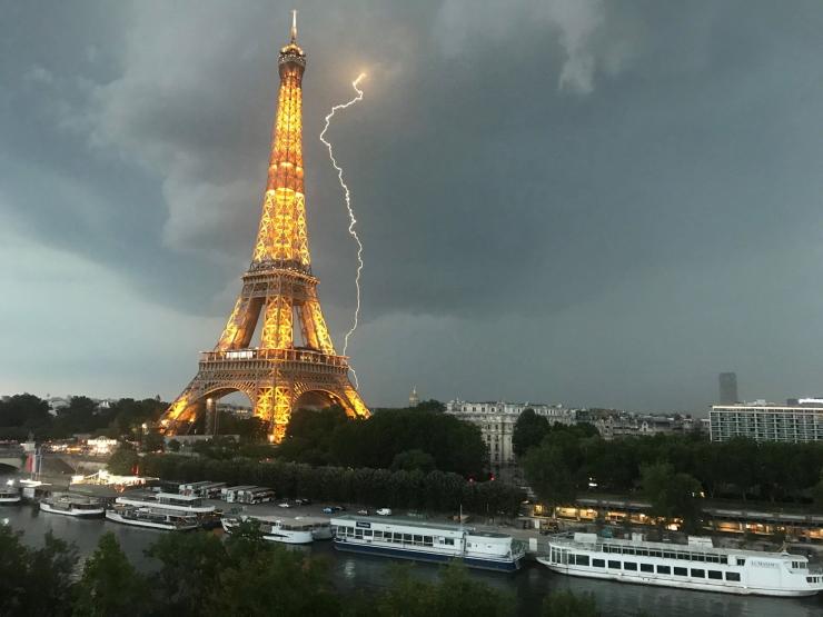Image d'illustration pour Bilan des orages & fortes pluies en France les 3 et 4 juin 2020