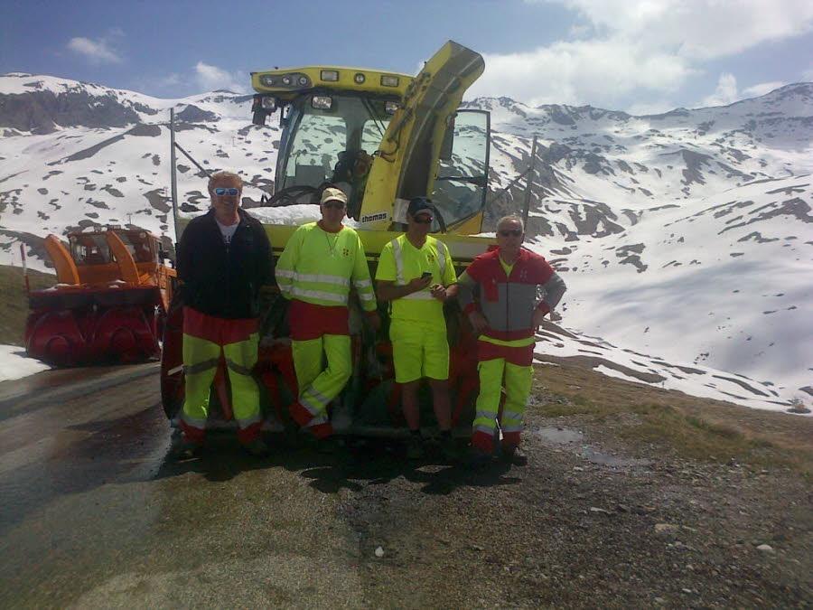 juin : Ouverture du col de l Iseran Col routier le plus haut d Europe