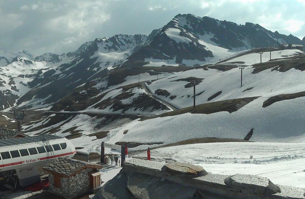 Savoie Le col de l Iseran dneig - Le Dauphin Libr