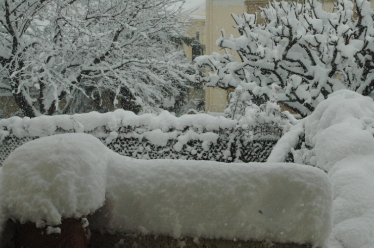 Image d'illustration pour Retour sur l'épisode neigeux exceptionnel de mars 2010 en Méditerranée