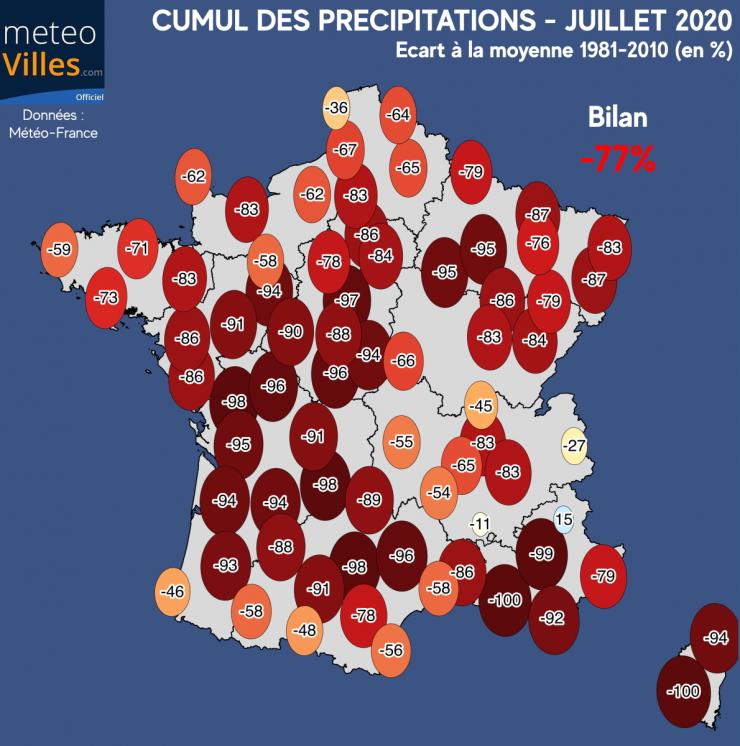 Image d'illustration pour Sécheresse en France : un mal de plus en plus récurrent