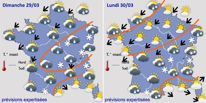 Image d'illustration pour Vers un retour de l'hiver pour la fin du mois de mars