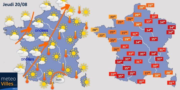 Image d'illustration pour Pic de chaleur sur la France entre mercredi et vendredi