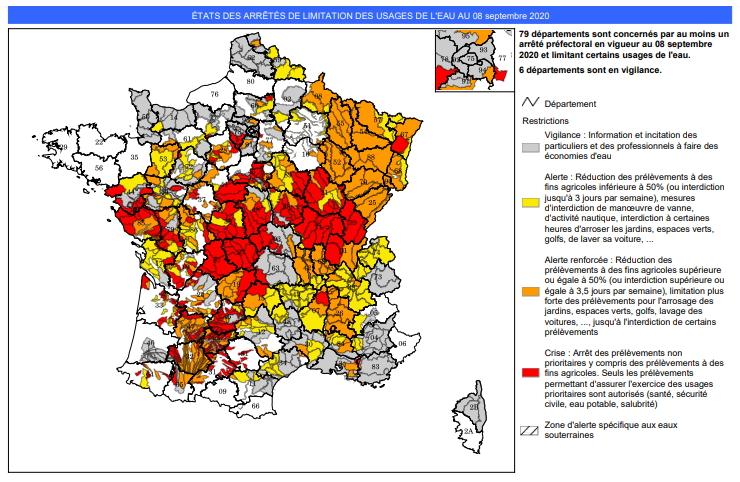 Image d'illustration pour L'automne a beaucoup de mal à s'installer en France...