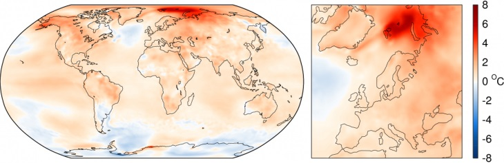 Image d'illustration pour Nouveau record de douceur mondial en août 2016