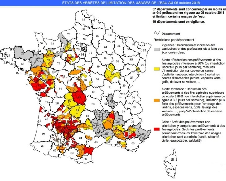 Image d'illustration pour Le manque de pluie et la sécheresse s'accroissent